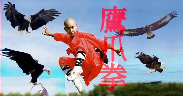 Kung Fu estilo de la Garra del Águila.