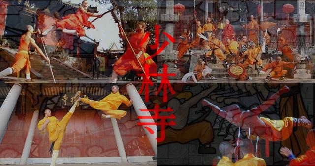Monjes Shaolin.