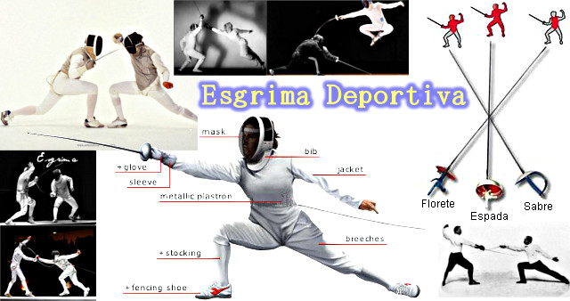 Esgrima Deportiva.