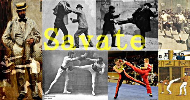 Charles Lecour, asentó las bases del Savate Boxeo Francés Moderno, fusionando elementos del antiguo Savate, el Chausson y el Boxeo.