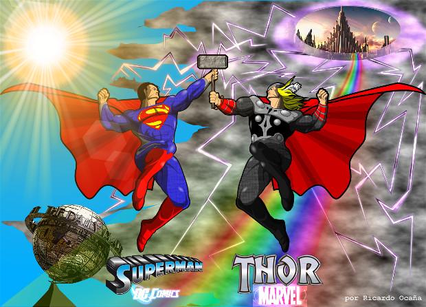 Superman y Thor