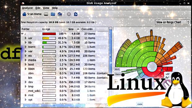 Analizador de uso del disco.