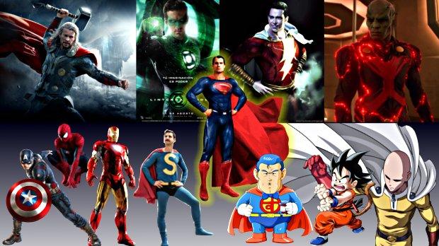 Personajes inspirados en Superman